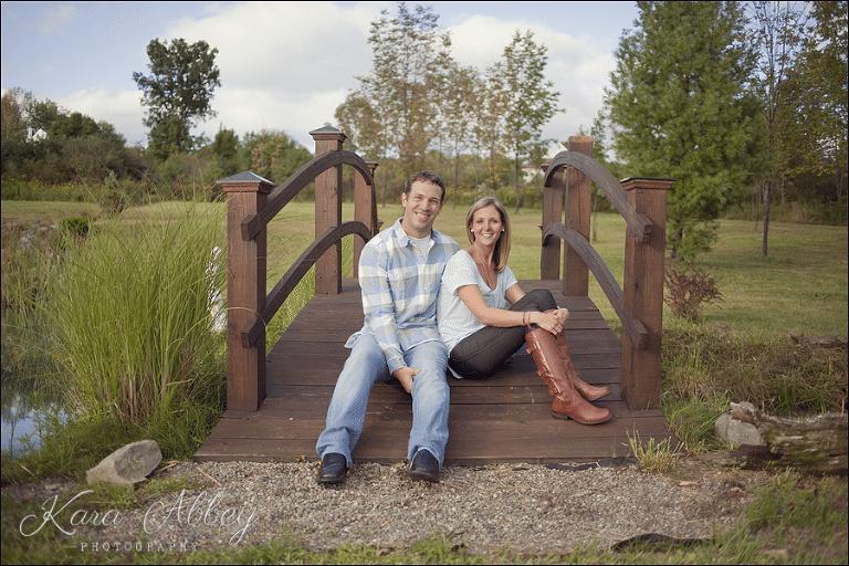Rustic Lake Front Bridge Vestal New York Engagement And Wedding Photography