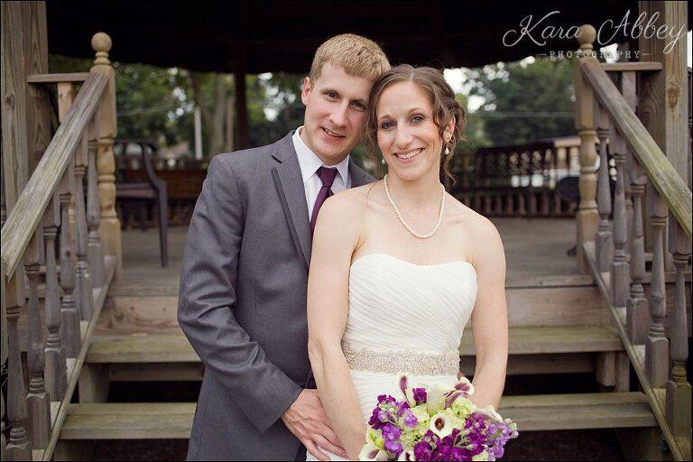 Wedding Day Photography Vestal Ny Gazebo Park Bride Groom Formal Portrait Just Married