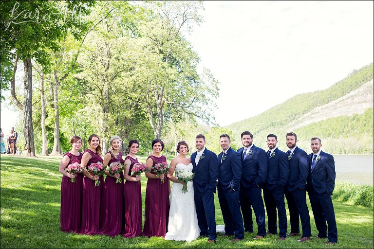 Matt & Tara / Burgundy & Navy Spring Wedding / Irwin, PA Photographer