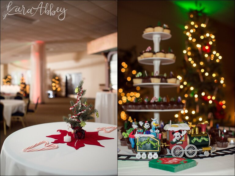 Christmas In July Wedding.Sarah Jason Christmas In July Wedding At Chautauqua Suites