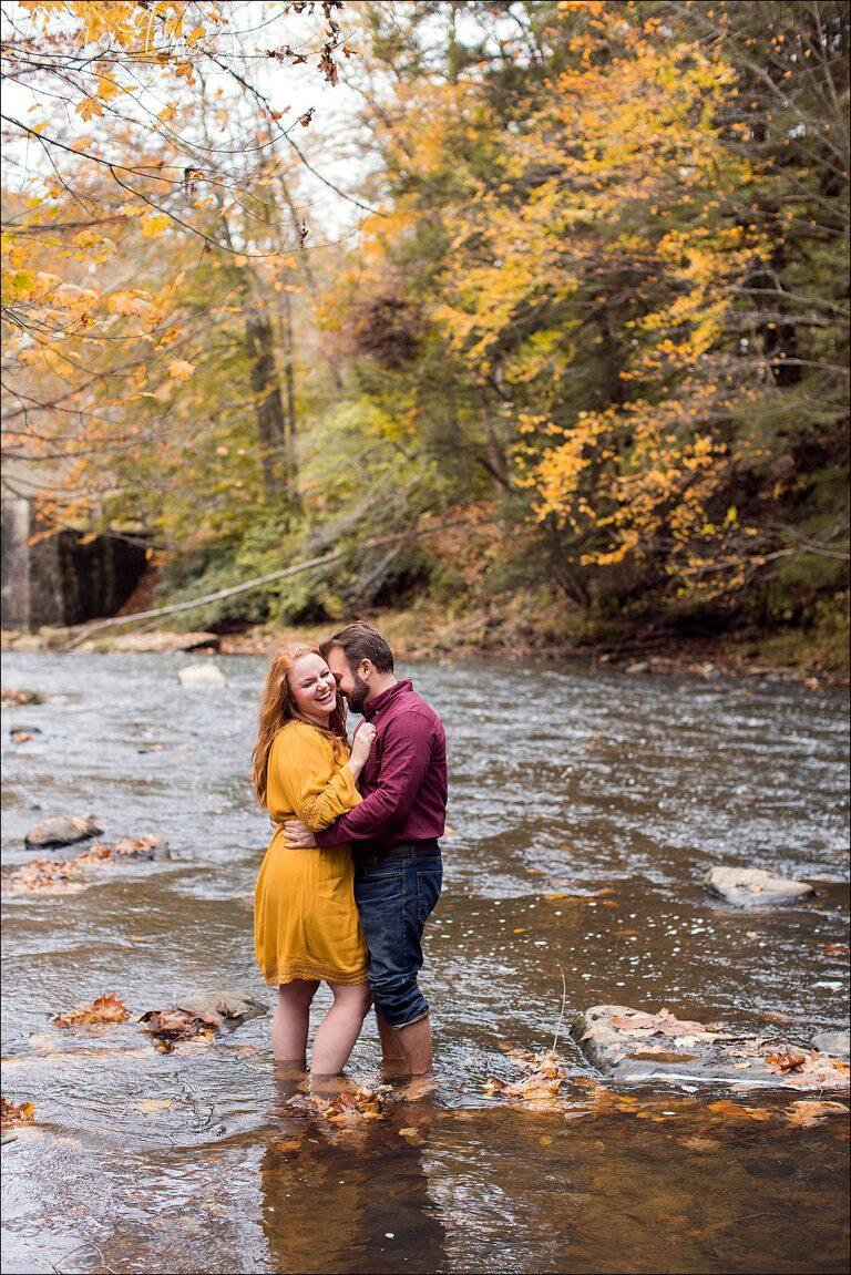 Nikai & Louis / Laurel Hill State Park Engagement Photography